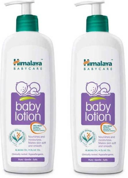 Himalaya Herbals Baby Lotion 400 ml combo ( pack of 2)
