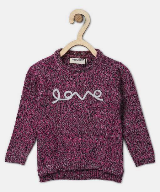 1cba03cee Sweaters For Girls - Buy Girls Sweaters Online At Best Prices In ...