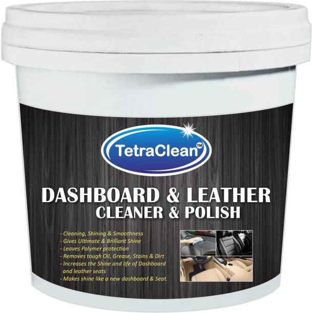 TetraClean Dashboard and Leather Polish for Cleaning, Shining and Smoothness Car Washing Liquid