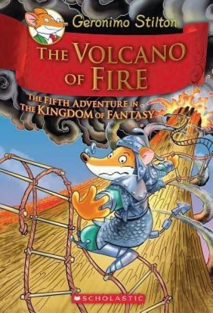 Geronimo Stilton and the Kingdom of Fantasy: Volcano of Fire (#5)