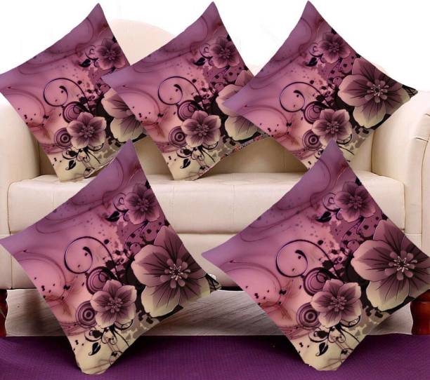 Diyank Enterperises Floral Cushions & Pillows Cover
