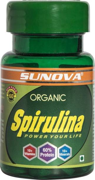 sanat products ltd. Sunova Organic Spirulina Tablet