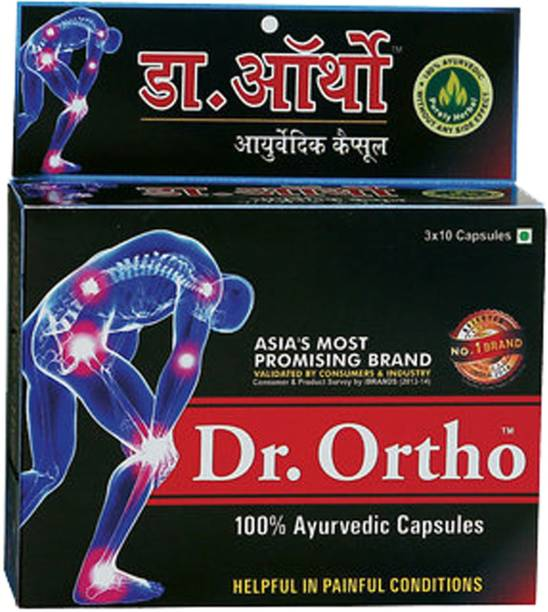 Dr. Ortho AYURVEDIC PAIN RELIEF CAPSULES 30 Caps (Pack of 1)