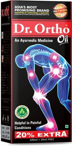 Dr. Ortho AYURVEDIC JOINT PAIN MASSAGE Oil (Pack of 1) Liquid