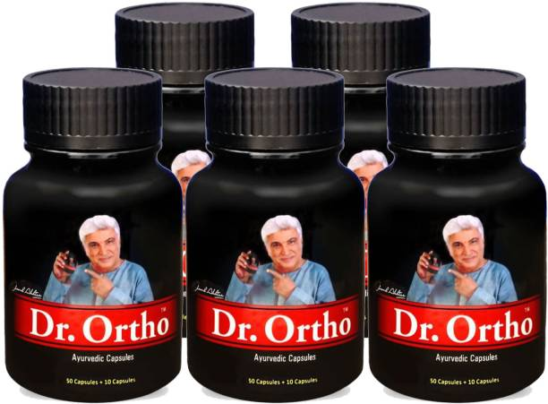 Dr. Ortho AYURVEDIC PAIN RELIEF CAPSULES (60 Caps in each Container)(Pack of 5)