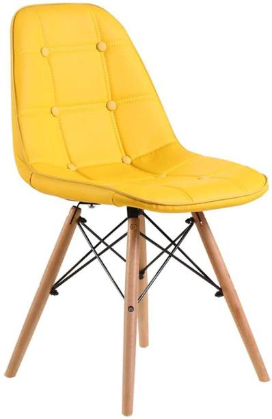 Finch Fox Eames Replica Cushioned Dining Chair/Cafe Chair/Side Chair/Accent Chair Engineered Wood Dining Chair
