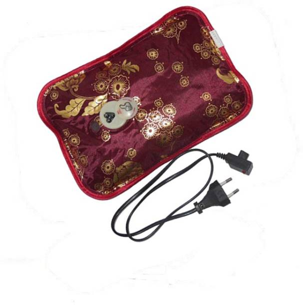 Aryshaa Electric Heat Bag Hot Gel Bottle Pouch Massager Warm for Winter In Many Colours And Designs Electric 1 L Hot Water Bag