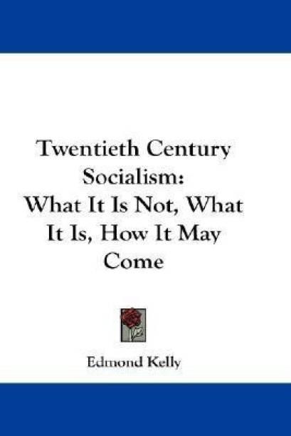 Twentieth Century Socialism