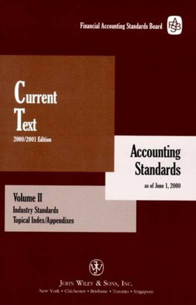 Current Text: Accounting Standards as of June 1 2000 v.2