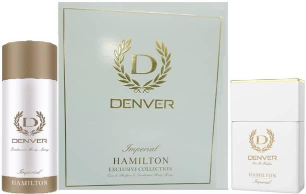 DENVER Imperial Hamilton Exclusive Collection Eau De Perfum & Deodorant Body Spray