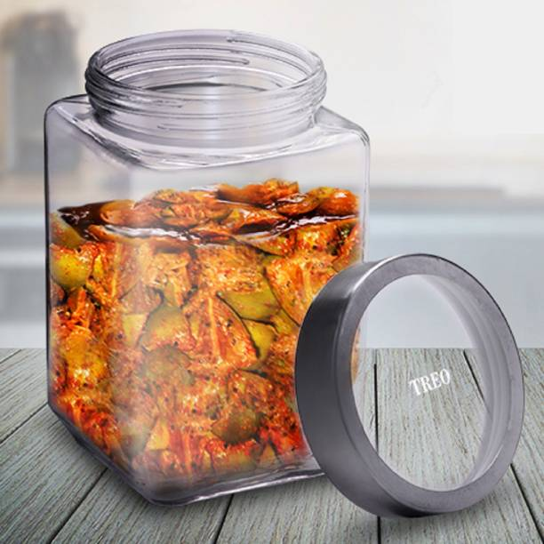 TREO  - 800 ml Glass Grocery Container