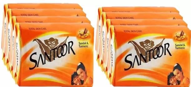 santoor SANDAL & TURMARIC SOAP combo