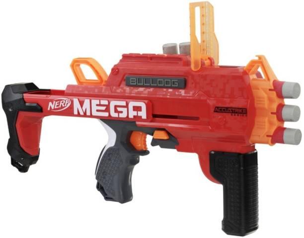 Nerf AccuStrike Mega Bulldog Blaster Guns & Darts