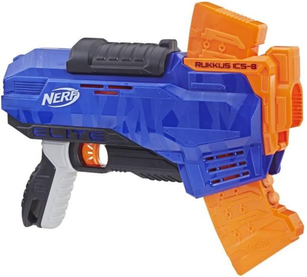 Nerf N-Strike Elite Rukkus ICS-8 Guns & Darts