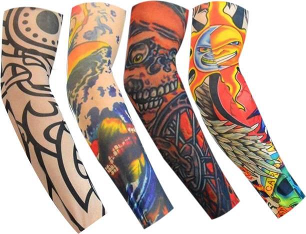 Nevyaonline Nylon Arm Sleeve For Boys & Girls With Tattoo