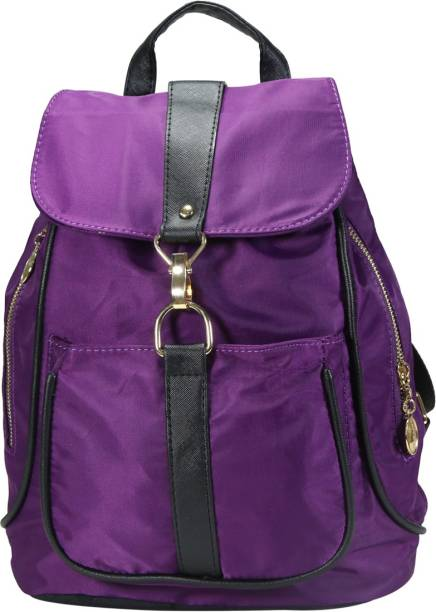 Desence Women   Girls Stylish Backpack for College School Travel - Solid  Colour ( 15f7d13ead4a7