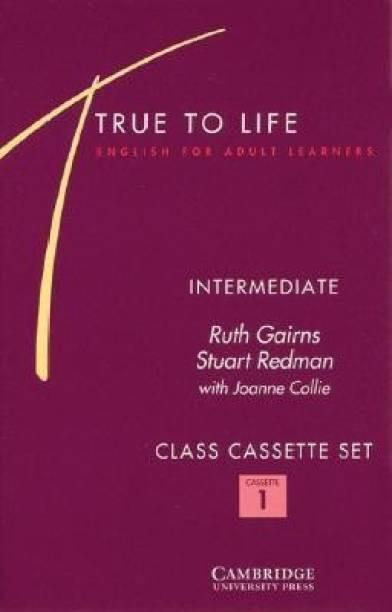 True to Life Intermediate Class Audio Cassette Set (3 Cassettes)