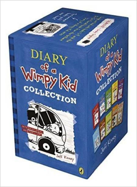Diary of a Wimpy Kid Collection (Set of 10 Books)