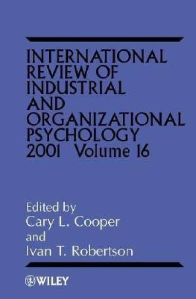 International Review of Industrial and Organizational Psychology 2001