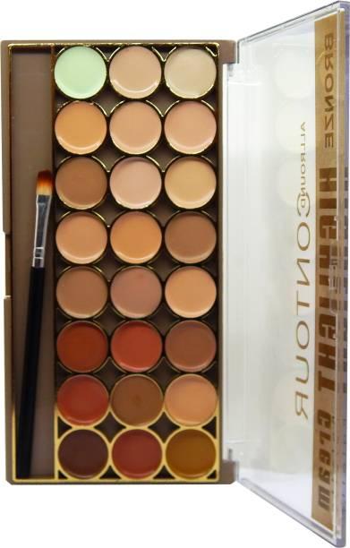 firstzon™ 24 color contour highlight cream palette Concealer