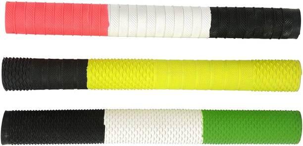 Lurags Super Combo of Three Multicolour bat grip