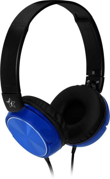Flipkart SmartBuy Foldable Headphones   Blue