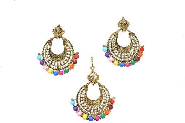 Frolics India Metal Jewel Set
