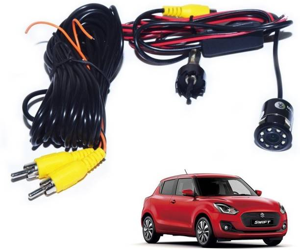 Auto Addict 8 LED Night Vision Car Reverse Parking Camera Vehicle Camera System