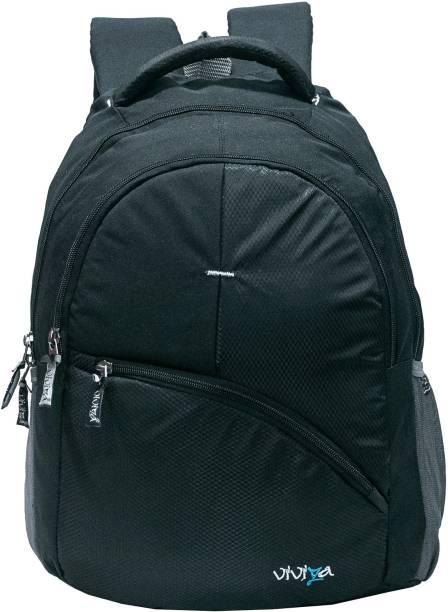 Viviza School Backpack-Black Waterproof Backpack