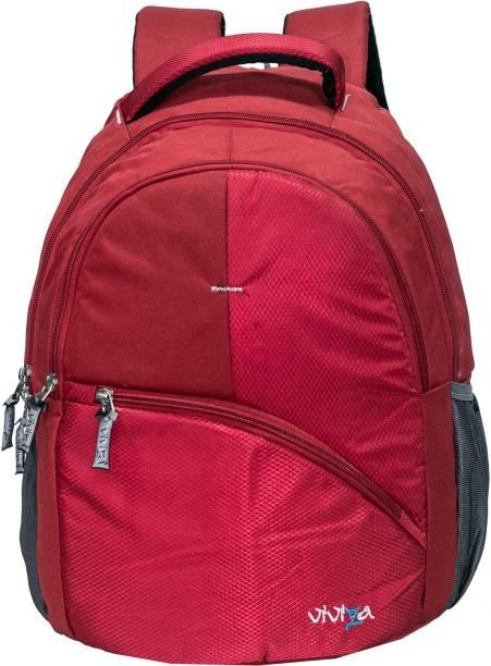 Viviza School Backpack-Red Waterproof Backpack