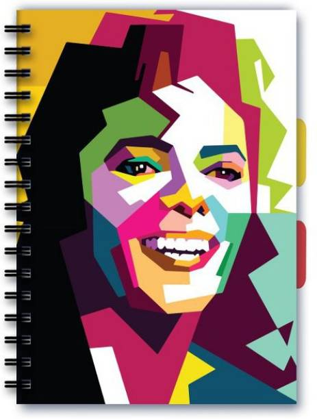 Posterskart Notebook A5 Ruledskart Michael Jackson Vector Art Music Notebook A5 Ruled A5 Notebook Ruled 200 Pages
