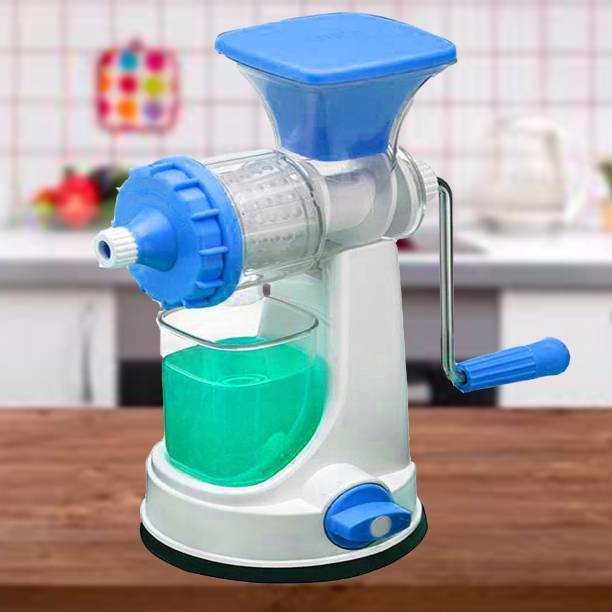 Ryan Plastic Hand Juicer Hand Jucer for fruit vegetables With 1 Glass