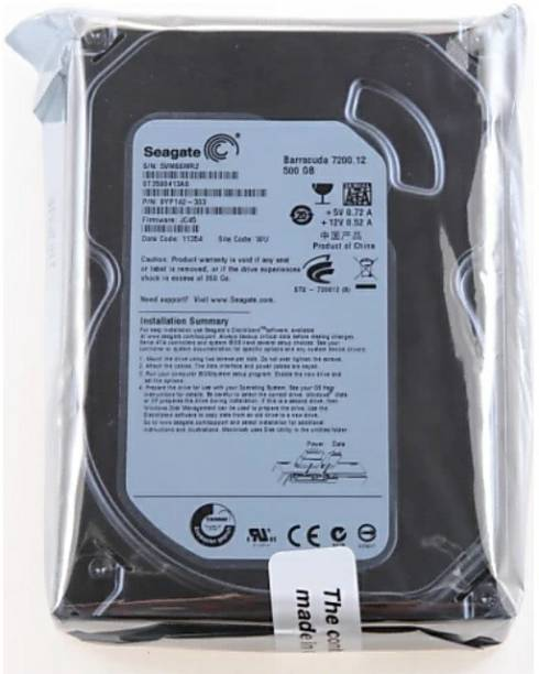 10d833fc7 Seagate 500 GB desktop Hard Disk 500 GB Desktop Internal Hard Disk Drive  (desktop hardisk