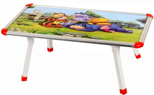 a4346e693c1 Digionics Pooh Design Multi Foldable Eating And Study Multipurpose Bed Table  Engineered Wood Study Table