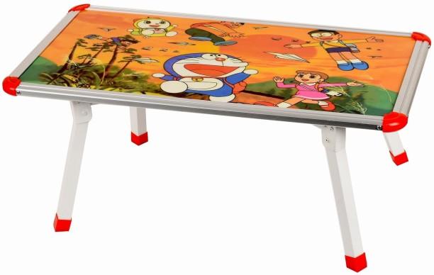 Digionics Doremon Design Multi Foldable Eating And Study Multipurpose Bed  Table Engineered Wood Study Table