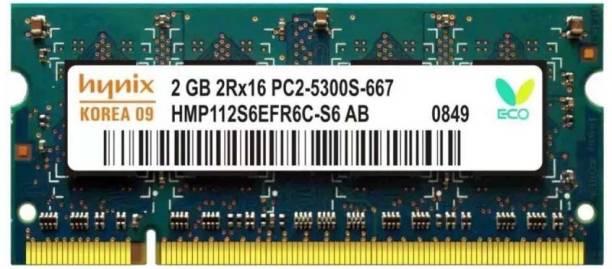 Hynix ddr2 DDR2 2 GB (Dual Channel) Laptop (hymp666)