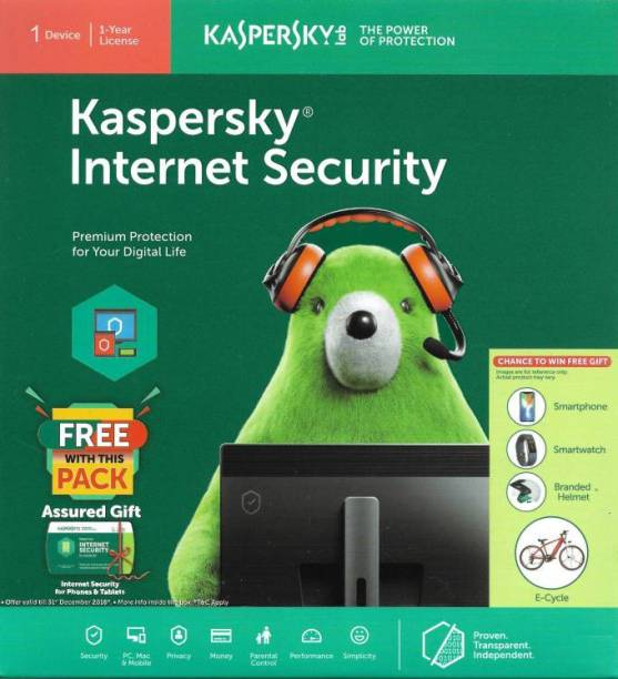 Kaspersky Internet Security 1.0 User 1 Year