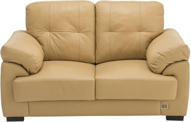 Durian Leslie/2 Leather 2 Seater  Sofa