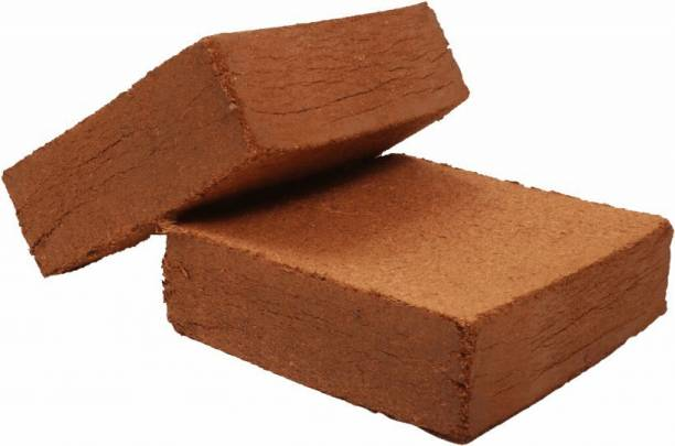 MAQ COCOPEAT 10KG BLOCK ( coirpith or coco fibre) for kitchen and terrace gardening Manure