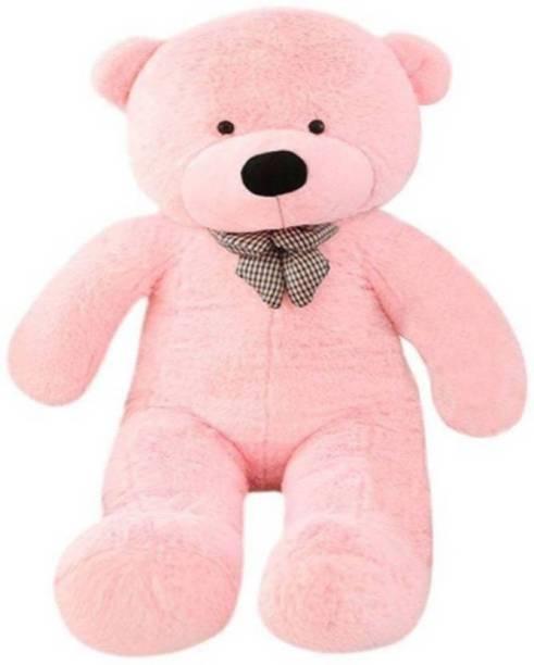 TEDDYIA 5 Feet Stuffed Spongy Hugable Cute Teddy Bear Cuddles Soft Toy For Kids Birthday / Return Gifts/Valentine Day/Anniversary gift/ Girls Lovable Special Gift High Quality  - 150.012 cm