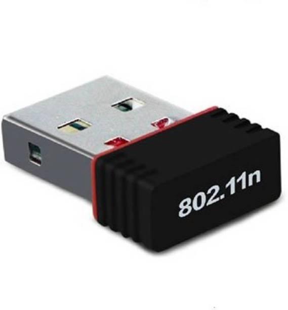 higadget Wi Fi Receiver 300Mbps, 2.4GHz, 802.11b/g/n USB 2.0 Wireless Mini USB Wi Fi Network Adapter USB Adapter