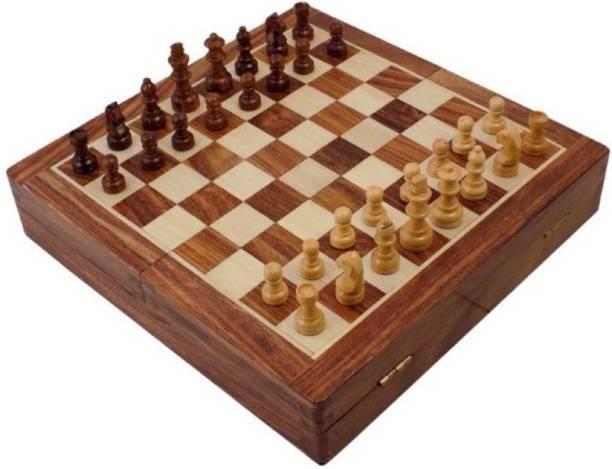 Triple S Handicrafts woodc22 25.4 cm Chess Board