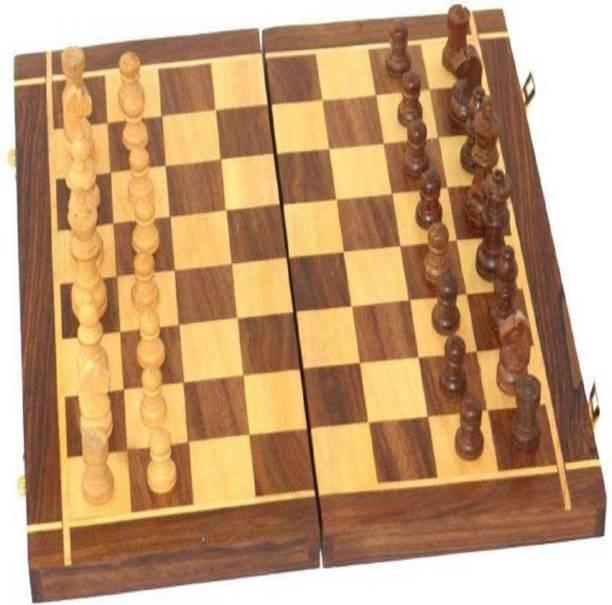 Triple S Handicrafts woodc21 30.48 cm Chess Board