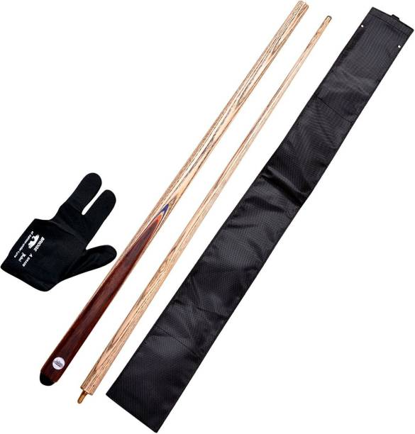 CLUB 147 Combo 9 (Glove,cue Cover and Snooker n Billiards cue) 454 Snooker, Billiards Cue Stick