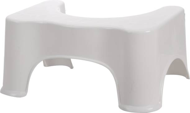 NHR Toilet Squat Stool for Western Toilets (White) Potty Seat