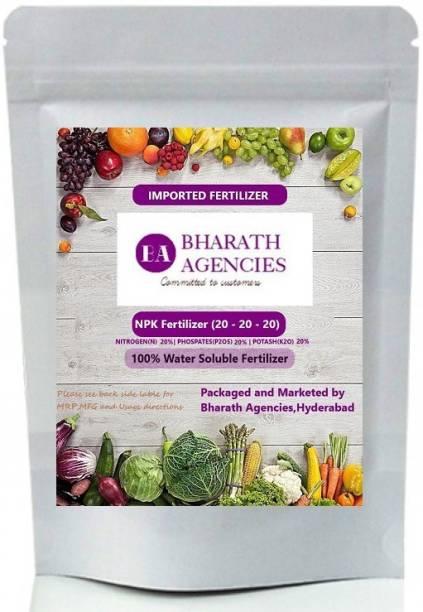 Bharath Agencies - NPK 20-20-20 | Plant Fertilizer | Plant Nutrient | Plant Food - 1000 Grams - Fertilizer