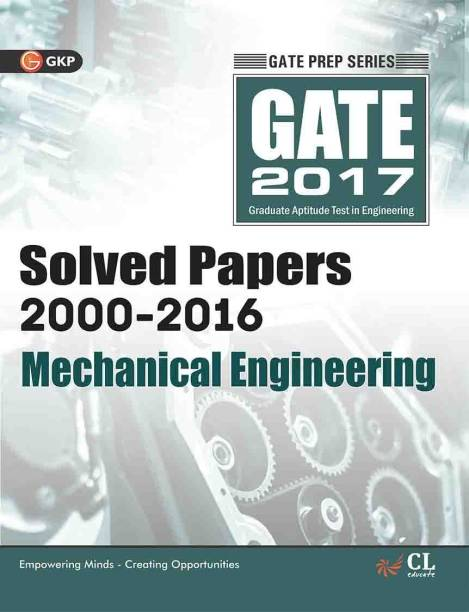 Gate Paper Mechanical Engineering 2018 (Solved Papers 2000-2017) 14 Edition