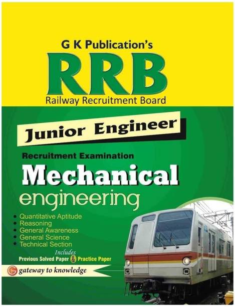 Guide to Rrb Mechanical Enginnering (Junior Engg.)2014 - Includes Previous Solved Paper & Practice Paper