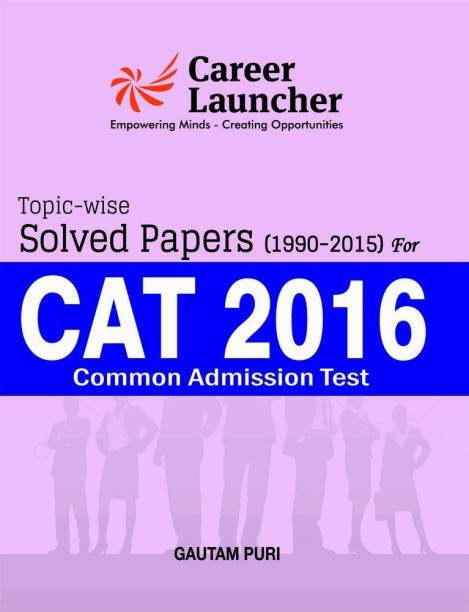 Cat 2016 Topic Wise Solved Papers 1990-2015