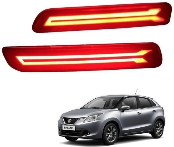 Auto Addict Bumper Rear Reflector DRL Baleno/Brezza/Ciaz/Ertiga/New Swift Dzire/Scross/Ritz/SX4 Car Reflector Light